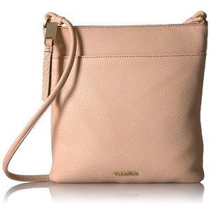 Calvin Klein Pebble Leather Crossbody IntimateGold